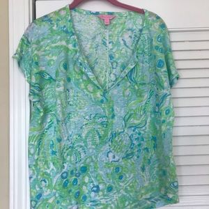 Lilly Pulitzer size M top